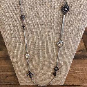 Fossil   Boho Long Necklace